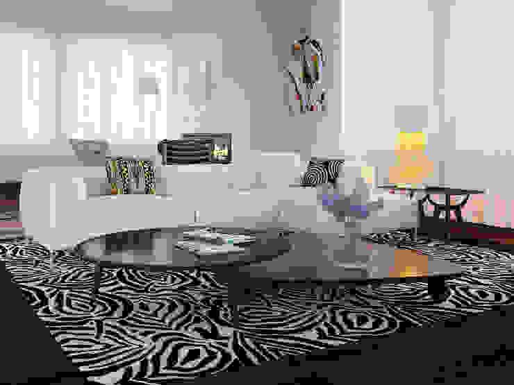 Skandinavische Wohnzimmer von Nataly Liventsova Skandinavisch