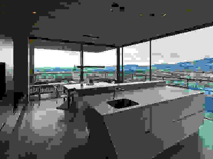 Duplexhouse Linz Moderne Küchen von HAMMERER Architekten GmbH/SIA Modern