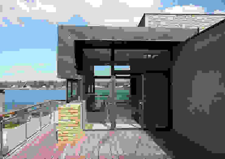 Casas modernas por Atelier de l'Ile Moderno