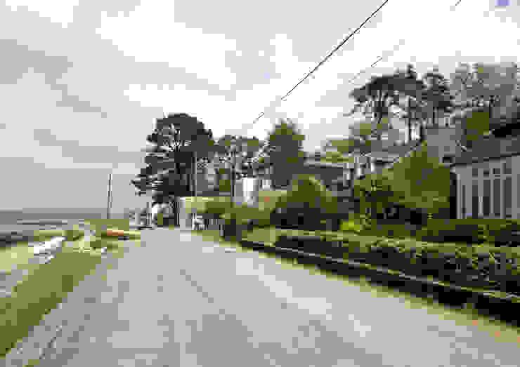 Maison à Plougastel (Finistère) Maisons modernes par Atelier de l'Ile Moderne
