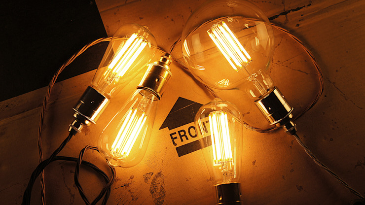 LED Filament Bulbs od C. Smith & Co Minimalistyczny