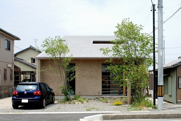 福釜の家 オリジナルな 家 の 神谷建築スタジオ オリジナル