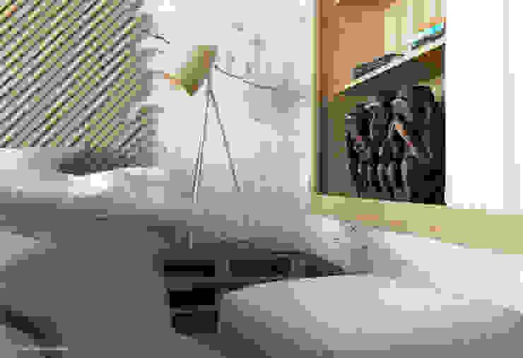 Piece of wood Quartos modernos por Seryjny Projektant Moderno