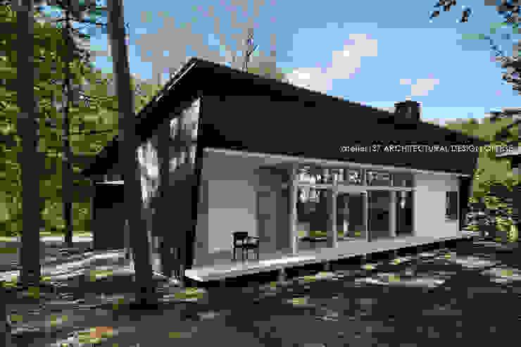 036軽井沢Kさんの家 モダンな 家 の atelier137 ARCHITECTURAL DESIGN OFFICE モダン