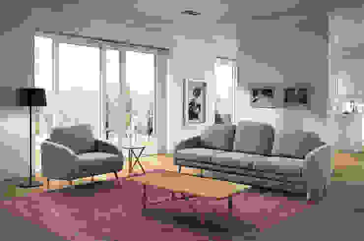 NEWY sofá y sillón de BELTÁ & FRAJUMAR Moderno