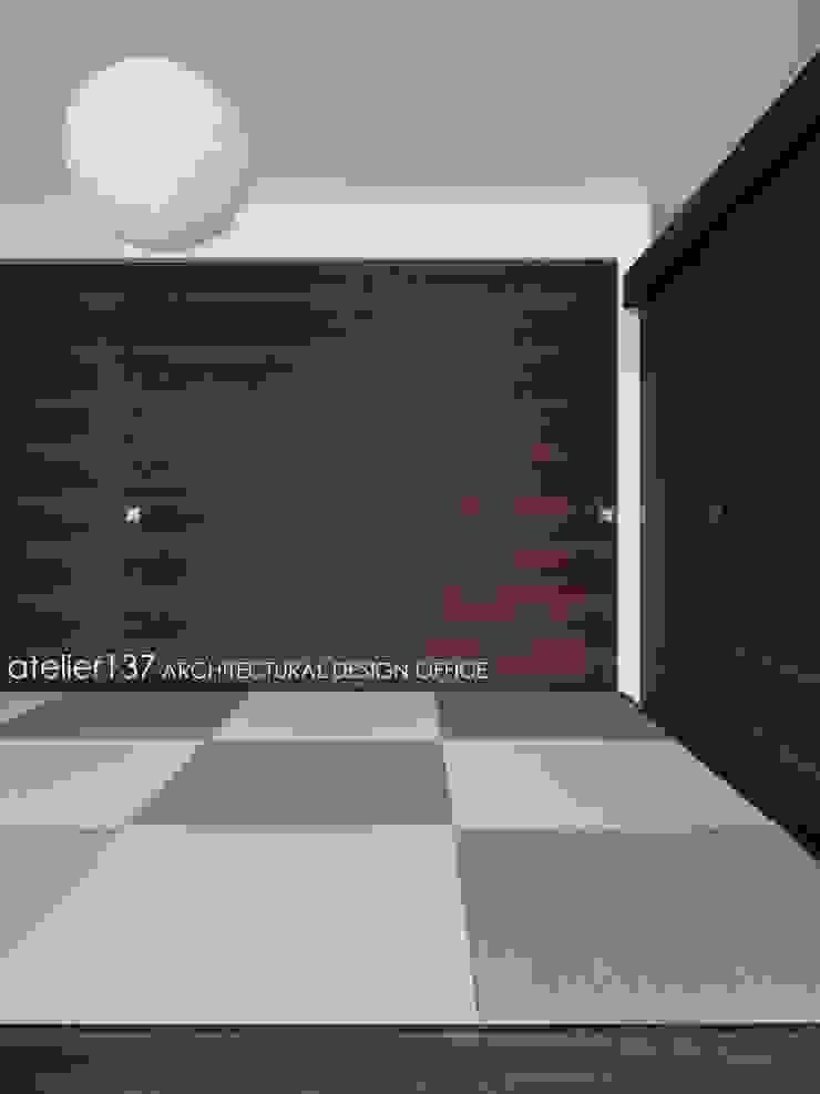 和室~016小諸 I さんの家 モダンデザインの 多目的室 の atelier137 ARCHITECTURAL DESIGN OFFICE モダン 木 木目調