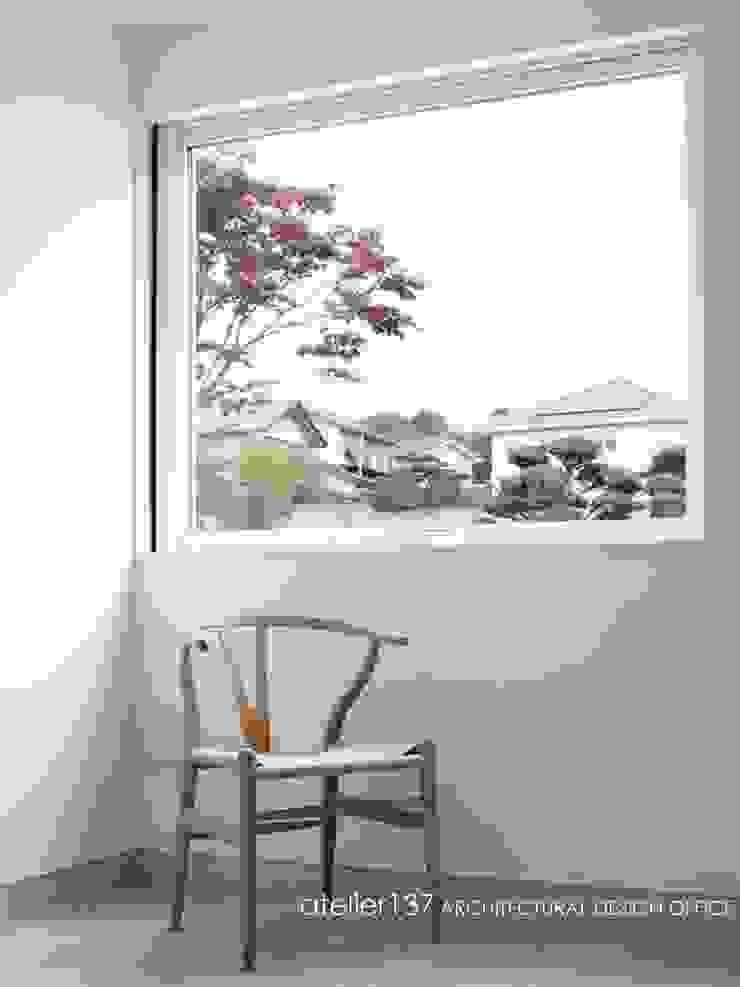 サロン~016小諸 I さんの家 モダンデザインの 多目的室 の atelier137 ARCHITECTURAL DESIGN OFFICE モダン コンクリート