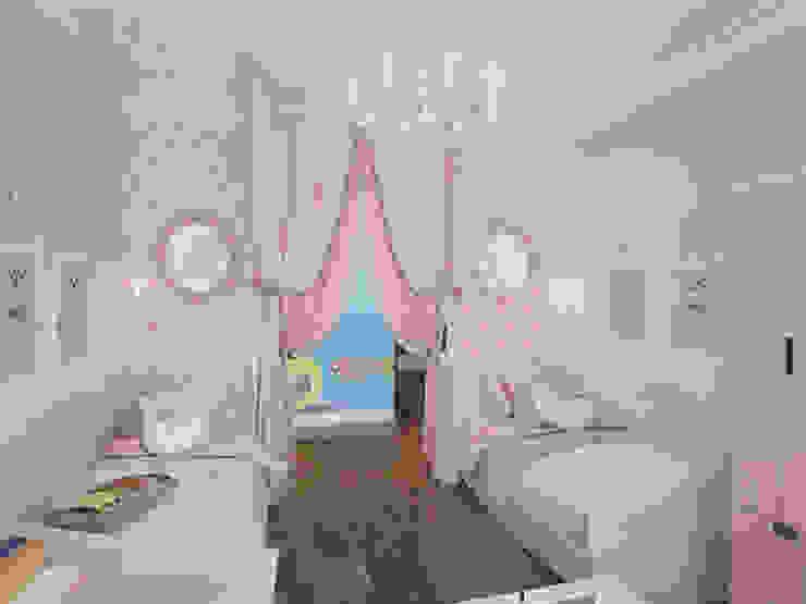 Klasyczny pokój dziecięcy od Fronton Studio Klasyczny