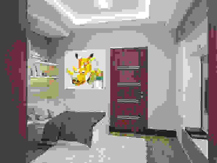Комната для подростка Детская комнатa в стиле минимализм от Fronton Studio Минимализм