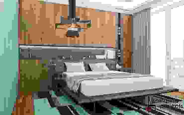 Minimalist bedroom by Samarina projects Minimalist