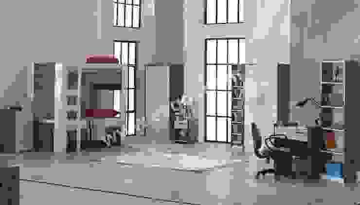 En Şık Erkek Çocuk Odaları Ev Gör Mobilya Sanayi Tekstil ve Ticaret LTD. ŞTİ. Eklektik