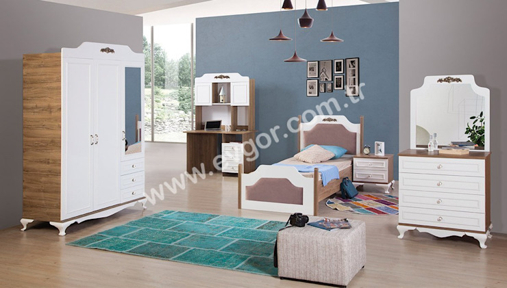 En Şık Erkek Çocuk Odaları Ev Gör Mobilya Sanayi Tekstil ve Ticaret LTD. ŞTİ. Endüstriyel