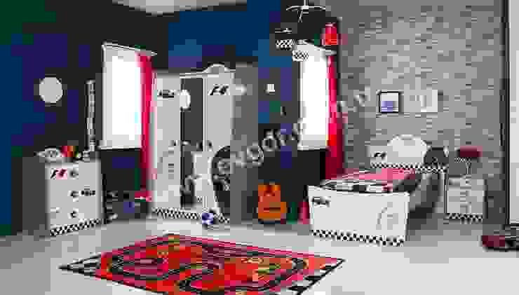 Ev Gör Mobilya Sanayi Tekstil ve Ticaret LTD. ŞTİ. – En Şık Erkek Çocuk Odaları: modern tarz , Modern