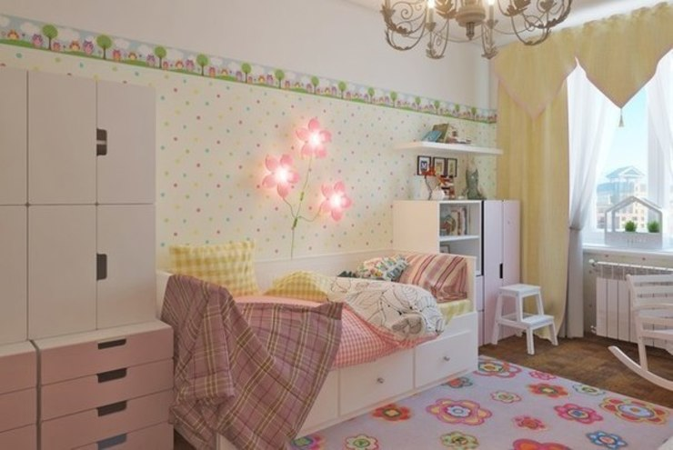Комната для принцессы. Детская комнатa в классическом стиле от Anderson Home Классический