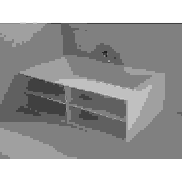 Bañera Corian® Two Mueble FR. de Baños de Autor Moderno
