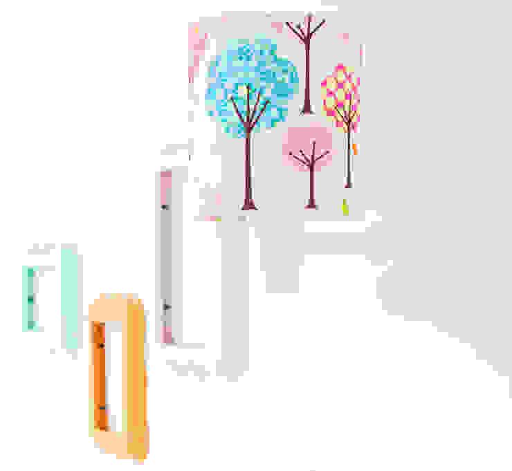 Dla dziewczynki: styl , w kategorii  zaprojektowany przez LAMPS&COMPANY,Nowoczesny