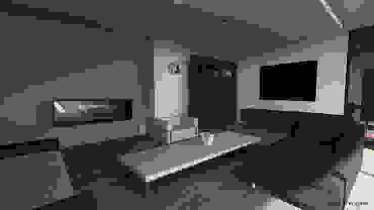 Salas de estilo moderno de ARRIVETZ & BELLE Moderno