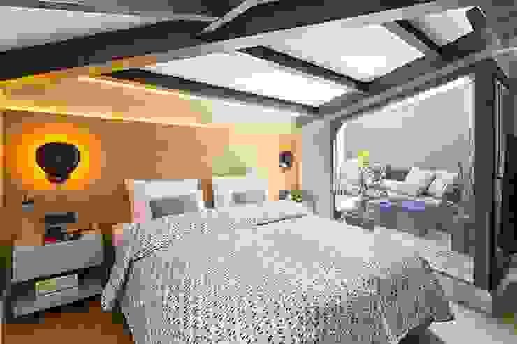DVI RESIDENCE Modern Yatak Odası Esra Kazmirci Mimarlik Modern