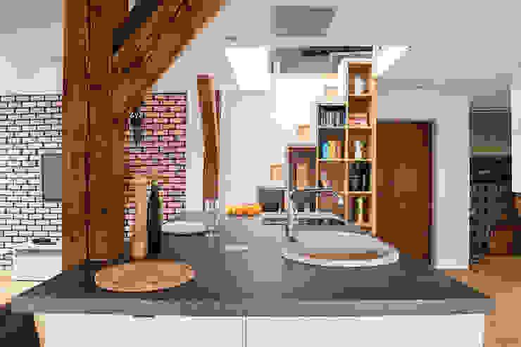 Cocinas de estilo moderno de GACKOWSKA DESIGN Moderno