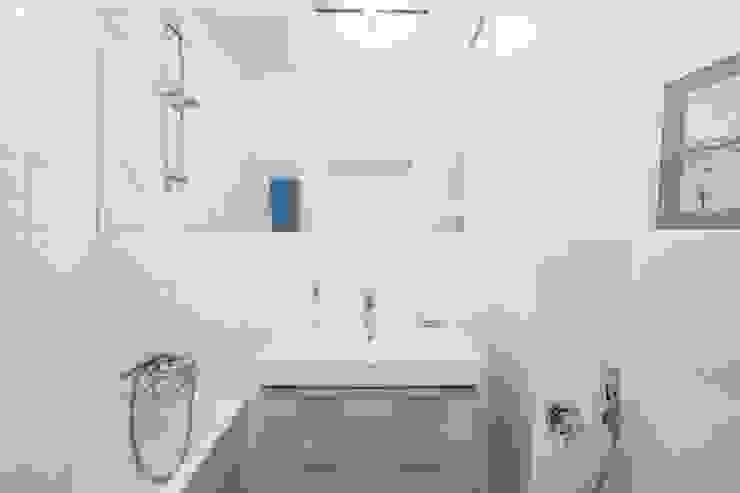 projekt mieszkania Cat Inside Projektowanie Wnętrz Nowoczesna łazienka od homify Nowoczesny
