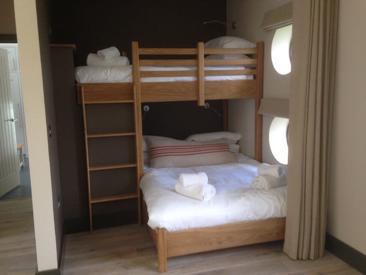 Single and double beds made as bunk beds: classic  by Broad and Turner, Classic