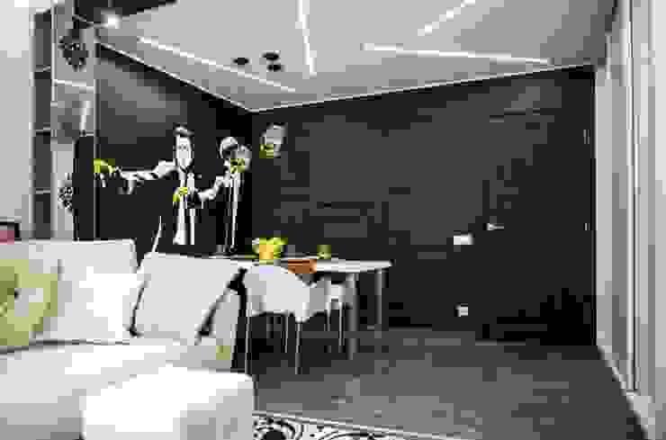 Наброски Голливуда Столовая комната в эклектичном стиле от Дизайн-студия Екатерины Поповой Эклектичный