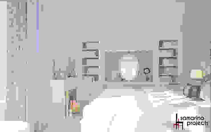 Chambre minimaliste par Samarina projects Minimaliste