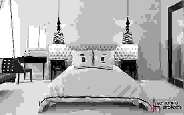 """Дизайн квартиры """"Невесомая красота"""" Спальня в классическом стиле от Samarina projects Классический"""
