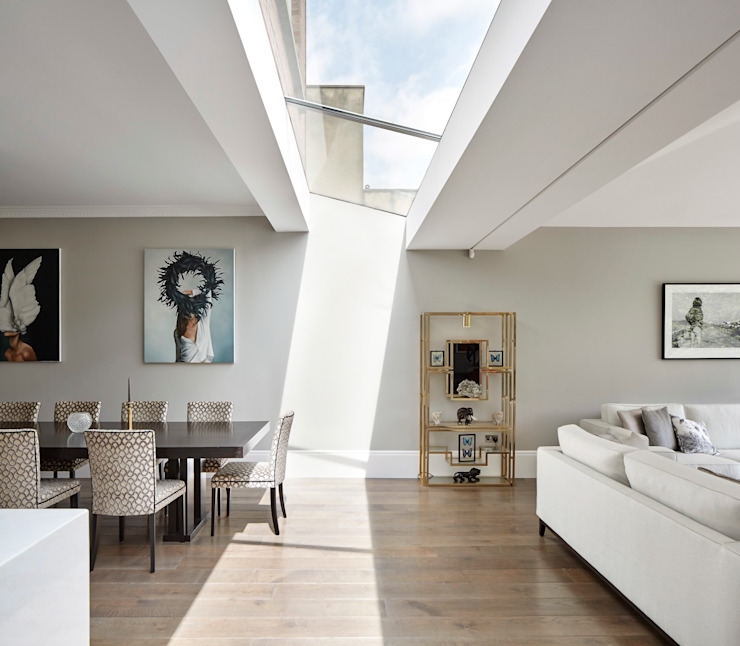 London Art de Vivre Comedores de estilo moderno de Sophie Nguyen Architects Ltd Moderno