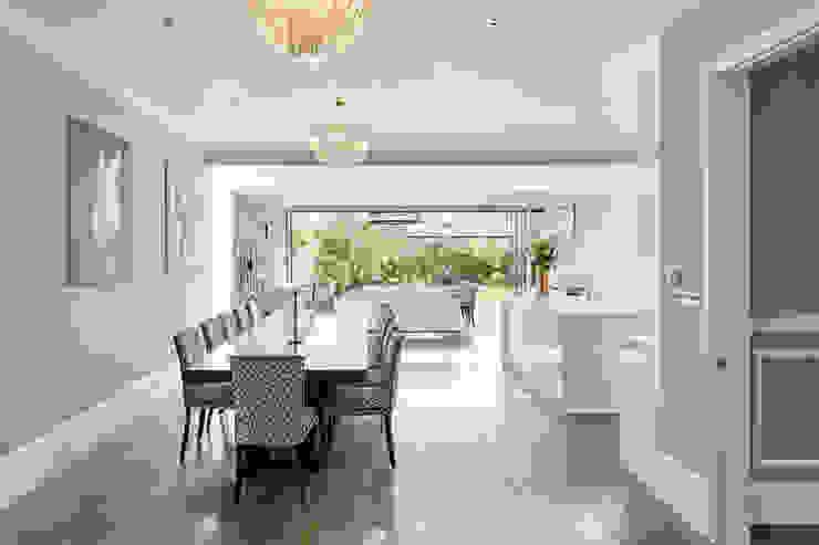 London Art de Vivre Salas de jantar modernas por Sophie Nguyen Architects Ltd Moderno