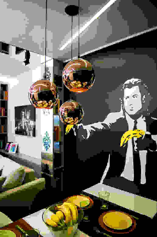 Фотообои Гостиные в эклектичном стиле от Дизайн-студия Екатерины Поповой Эклектичный