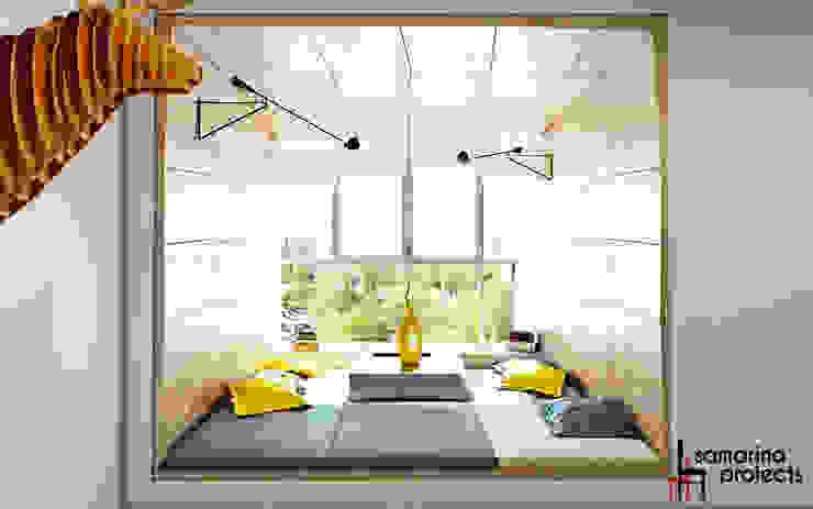 Samarina projects Minimalist living room