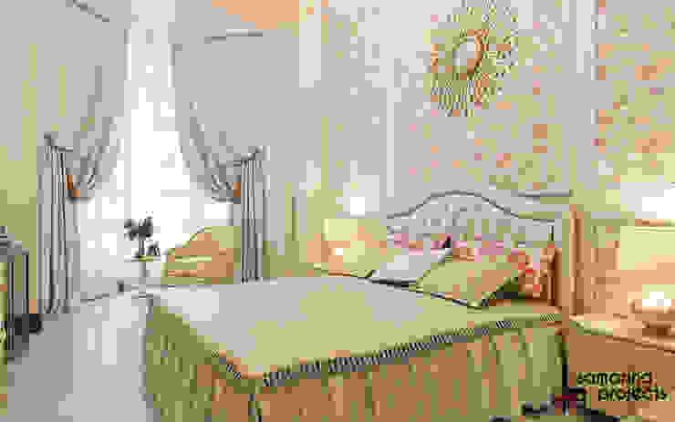 """Дизайн квартиры """"Легкая классика"""" Спальня в классическом стиле от Samarina projects Классический"""