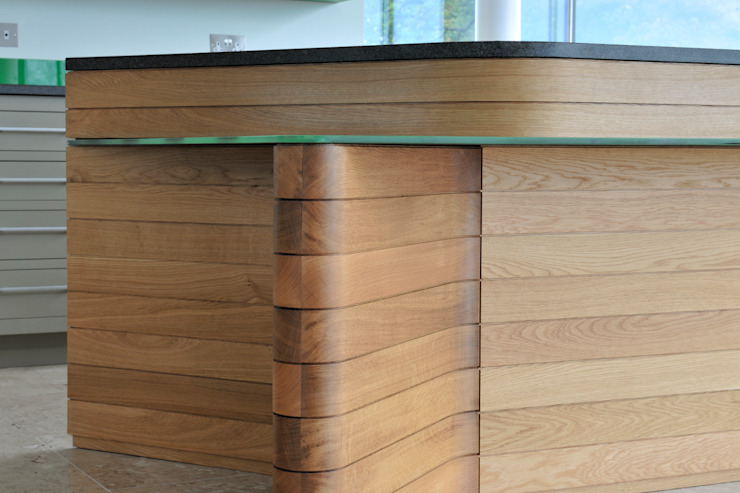 Carreg a Gwydr od Hall + Bednarczyk Architects Nowoczesny