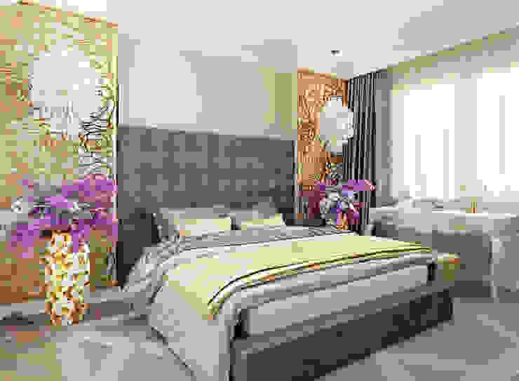 D+ | интерьерное бюро Eclectic style bedroom