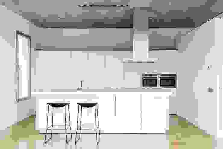 Casa Mikado Cocinas de estilo minimalista de Ascoz Arquitectura Minimalista