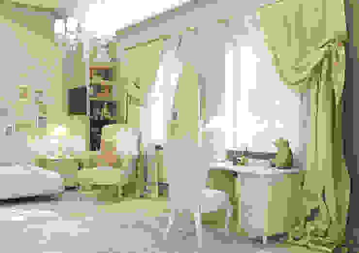 """Дизайн коттеджа """"Комната маленькой принцессы"""" Детская комнатa в классическом стиле от Samarina projects Классический"""