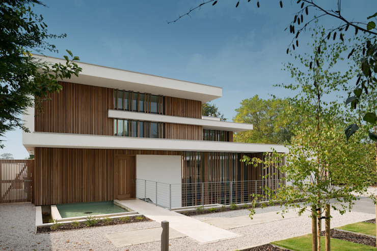 River House - External view from drive Moderne Häuser von Selencky///Parsons Modern