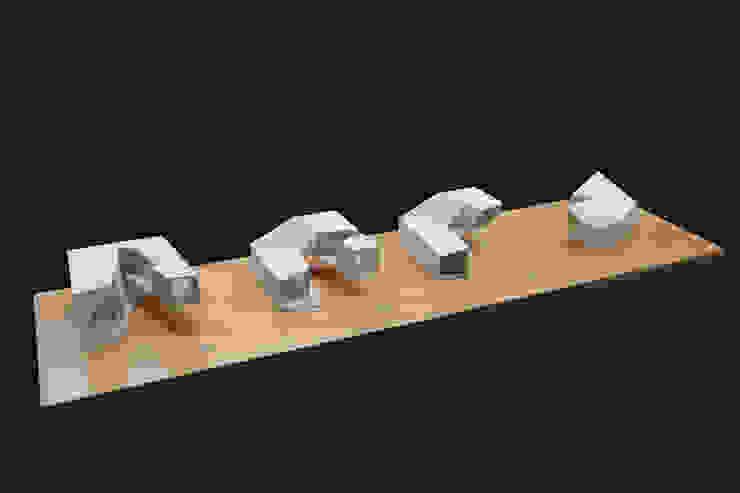 Dickies Showroom: Maquetas de Proceso de TAAV Arquitectos