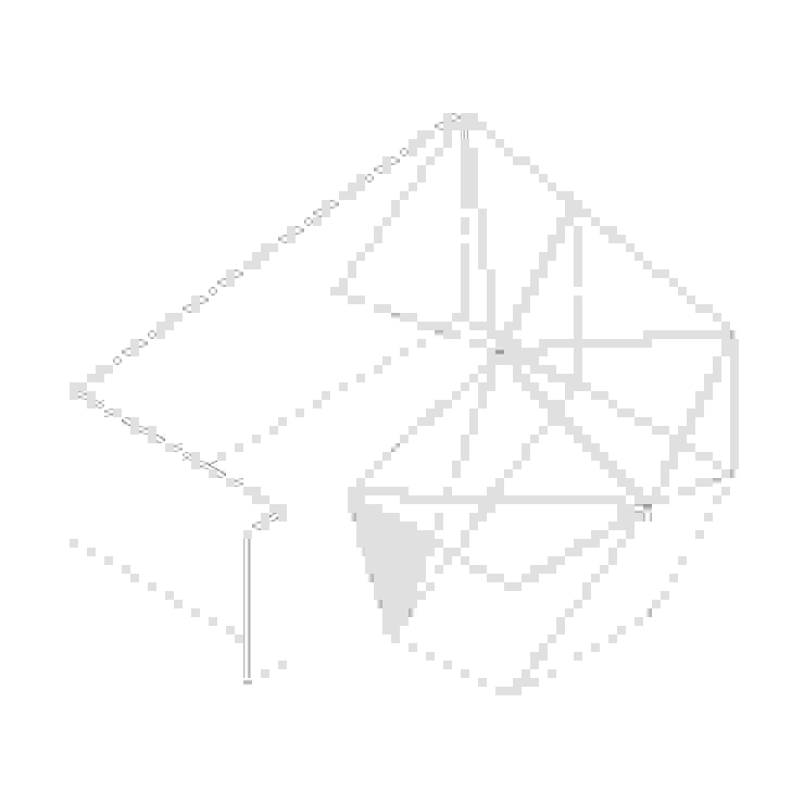 Dickies Showroom: Axo de TAAV Arquitectos