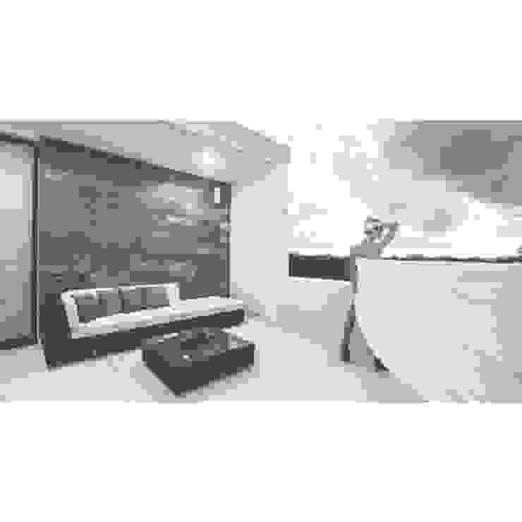 TAFF Moderner Balkon, Veranda & Terrasse