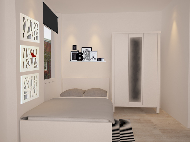 Modern Bedroom by Aileen Martinia interior design - Amsterdam Modern
