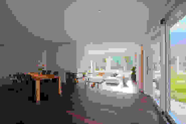 Einfamilienhaus Moderne Esszimmer von rgp architekten sia ag Modern