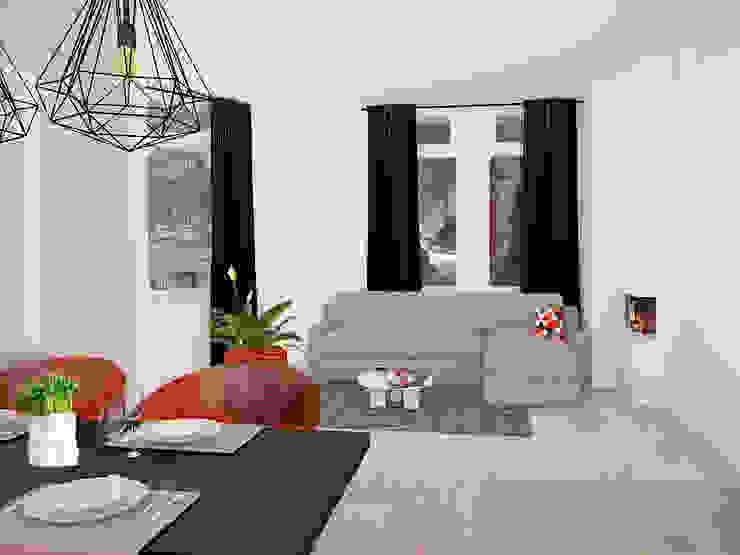 Livingroom Minimalistische woonkamers van Aileen Martinia interior design - Amsterdam Minimalistisch