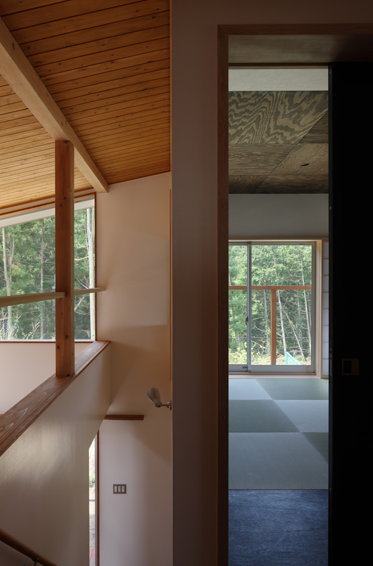 日高の家 モダンな 壁&床 の TAMAI ATELIER モダン