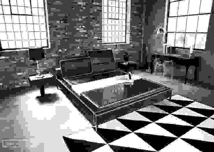 리스톤 귀사문석 스톤 매트리스 & 로건 침대: 리스톤의 현대 ,모던