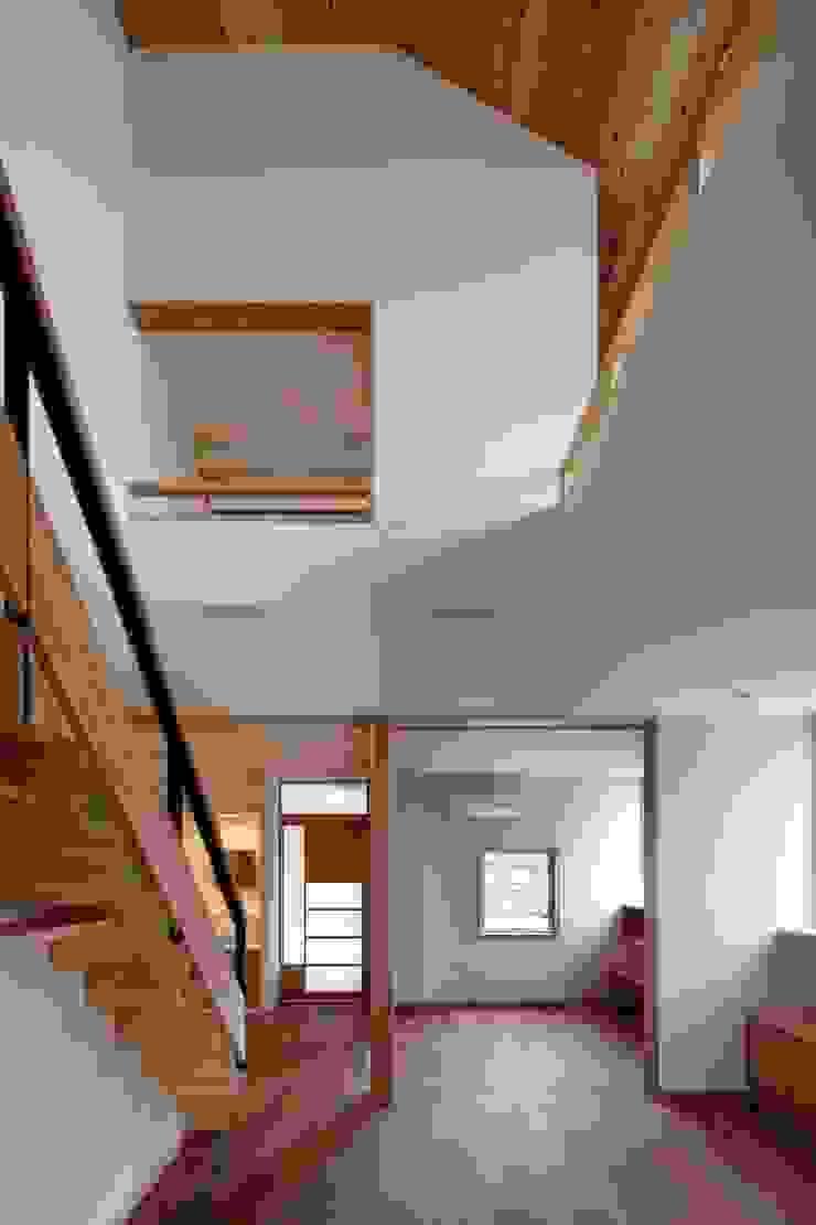 上野毛の家 モダンデザインの リビング の TAMAI ATELIER モダン