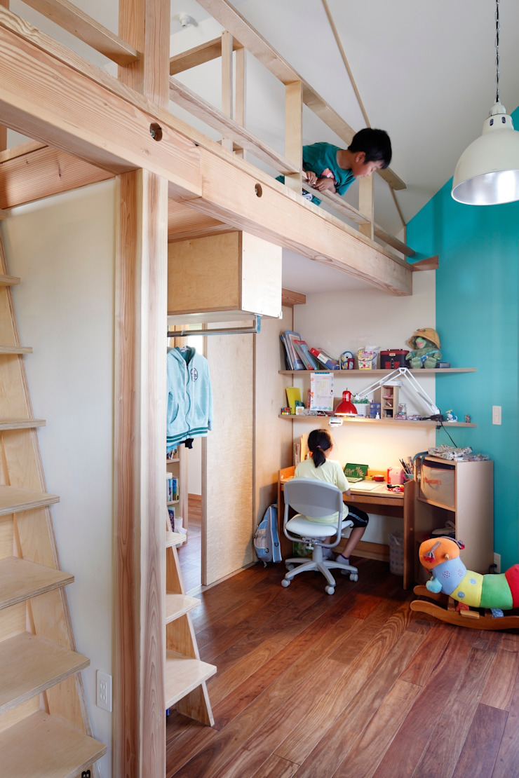 上野毛の家 モダンデザインの 子供部屋 の TAMAI ATELIER モダン