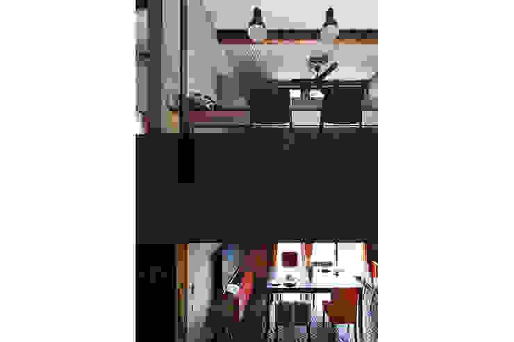 大倉山プロジェクト 階段 モダンスタイルの 玄関&廊下&階段 の 腰越耕太建築設計事務所 モダン