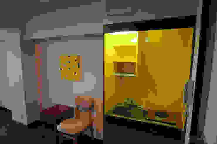 マノア狛江 個室 モダンスタイルの寝室 の 腰越耕太建築設計事務所 モダン